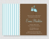 Baby Stork Collection: Printable Baby Shower Invitation