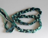 Braided Silk Headband/Belt