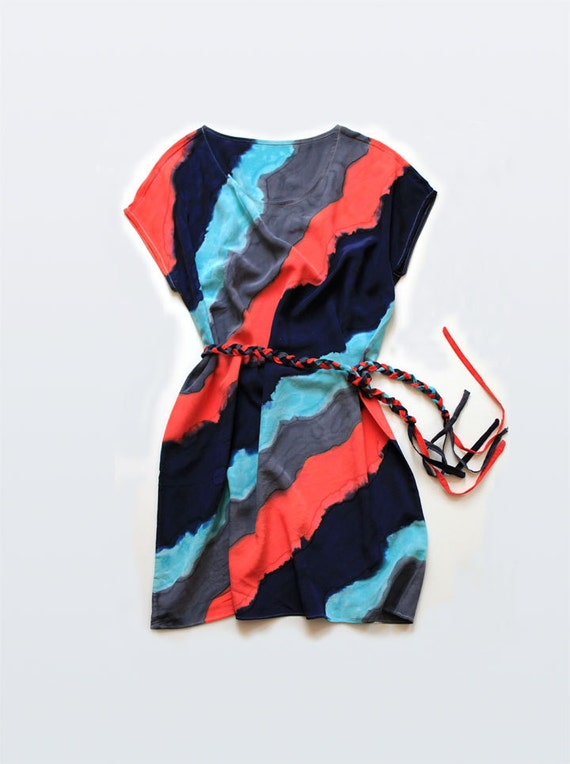Waverly Silk Day Dress