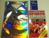Back To The Future Almanac Set-Includes Almanac, Transparent Receipt & Hologram Bag