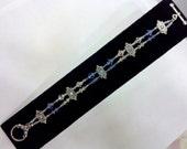 Sparkling, Double-Strand Swarovski Crystal Bracelet