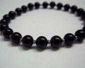 Black Onyx Continuous Bracelet