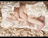 Ivory Baby Ruffle Diaper Cover Ruffle Bloomer Fancy Pants Panty