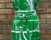 Vintage Hawaiian Wrap Dress