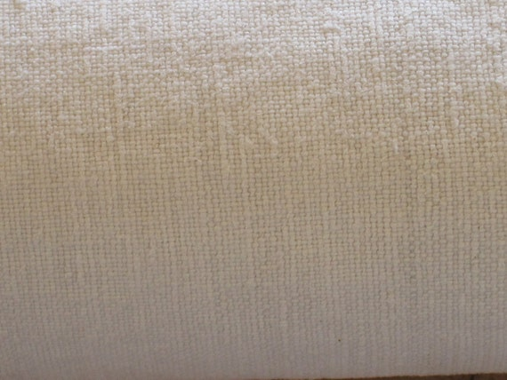 Reserved For MG - Merci. Beautiful Antique French Hand Loomed Linen Sheet With Centre Seam