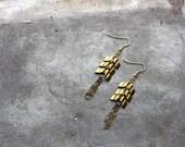 Chevron Dangle Earrings