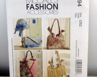 Handbags And Hat - Sewing Patterns