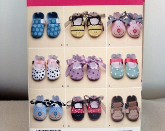 Baby Shoes - Sewing Pattern