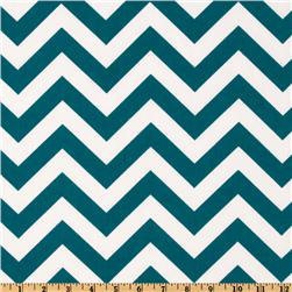Indoor/Outdoor Blue Moon Zig Zag Home Decor Fabric