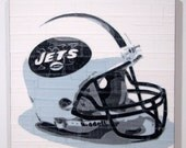 New York Jets - NFL Helmet - Duct Tape Art