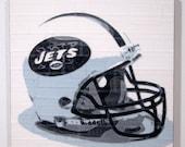 New York Jets - NFL Helmet - Duct Tape Art