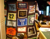Made to order T-shirt quilts