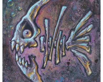 Fishbones limited edition print