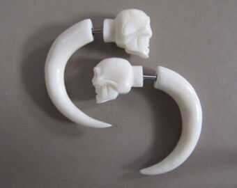 Skull Bone Earrings