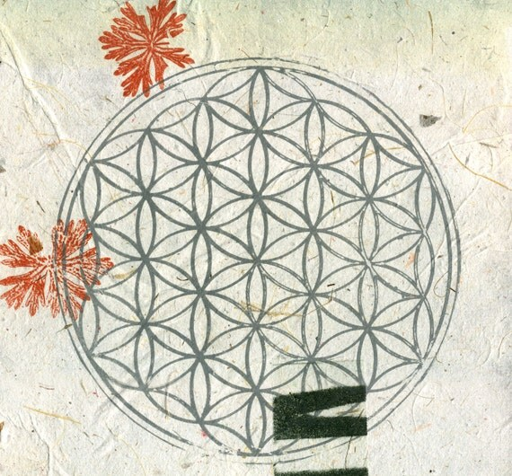 Flower of Life in Autumn