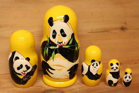 Panda Nesting dolls set of 5