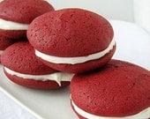 Gourmet Red Velvet Whoopie Pies