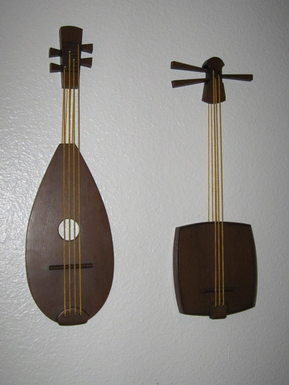 Mid Century Burwood String Instrument Wall Art 10% OFF SALE