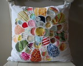 Chrysanthemum Pillow