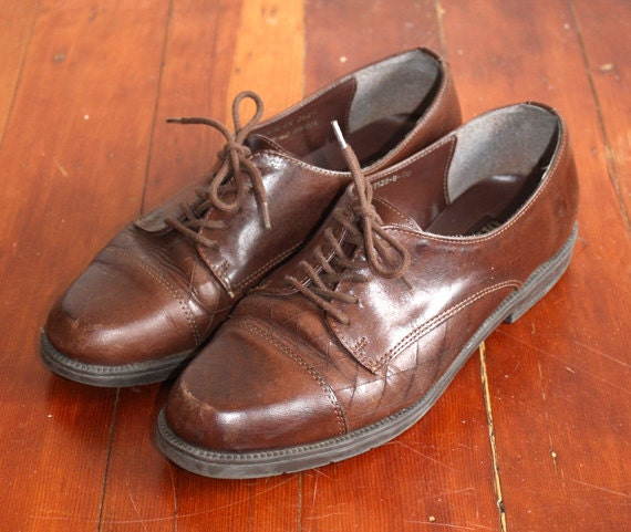 Brown Leather Oxfords 7