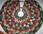 Kalidascope Christmas Tree skirt