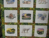 Animals of the Serengety wonderful african designs  FREE SHIPPING