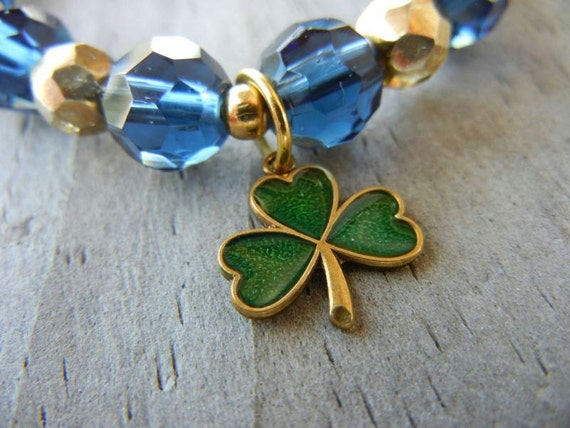 Green Notre Dame Fighting Irish Bracelet