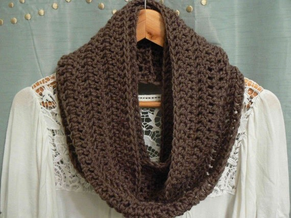 RESERVED for laurajvg (Taupe Infinity Scarf)