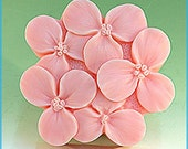 Soap Mold Mould Silicone Flexible Mold Cake Mold 5 Flowers