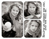 Believe Storyboard Template - 8x10 PSD Storyboard for Photographers