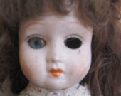 Creepy Vintage Spooky Porcelain Doll