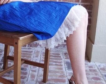 Extender Slip: Cream/ Ivory Lace
