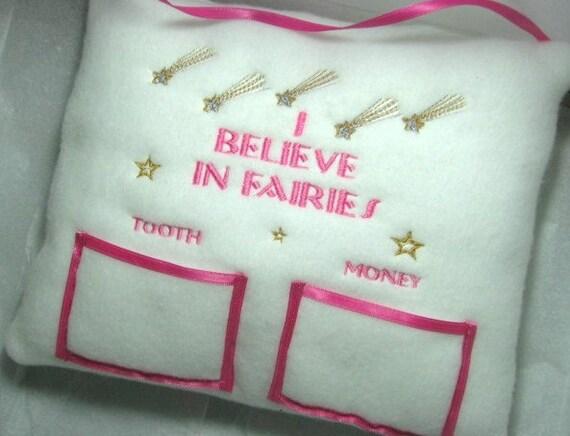 GirlsTooth Fairy Pillow