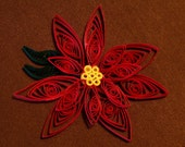 Quilled Pointsettia