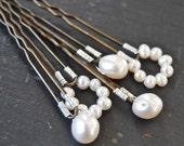 Gentile Bridal Pearl Hair Pins Fashion accessory