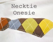 Timothy Necktie Onesie (Made to Order)