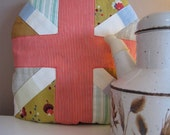 Fun, handmade, Union Jack Tea Cosy