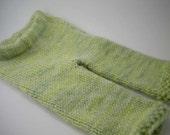 ON SALE - Celery Green Wool Longies, 3-6 Months