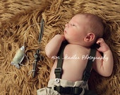 Newborn Fisherman Photography Prop