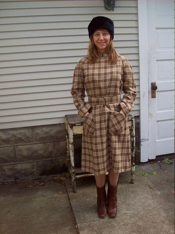 Mod Wool Dress