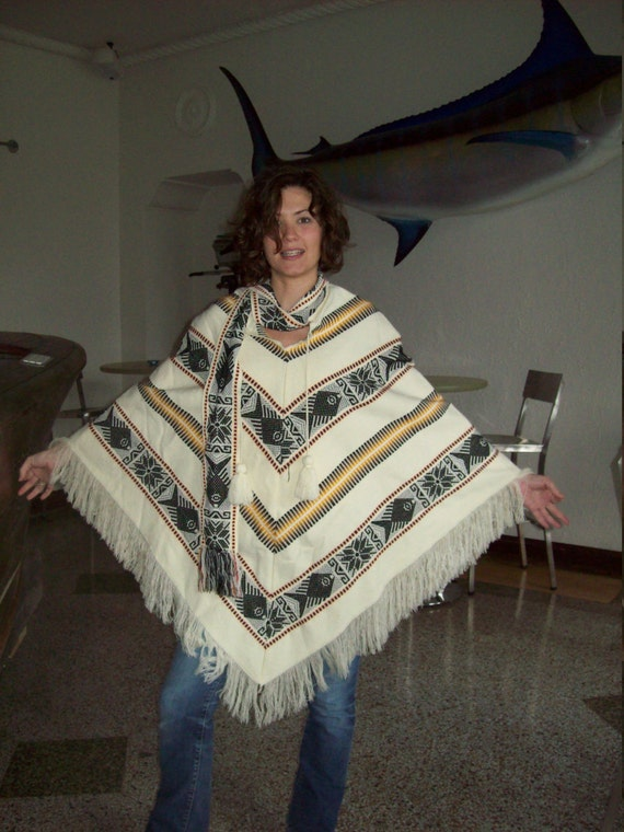 The Happy Hippie Poncho
