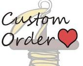 custom listing for MezzaLunaAlpaca