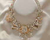 Bead Jewelry Necklace Callas Bridal Collection
