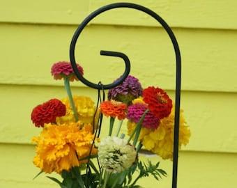 """Set of 12 - 36"""" Medium Scroll Shepherd Hook Small Garden Hanger Wedding Supplies MADE TO ORDER"""