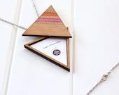 Triangle Locket