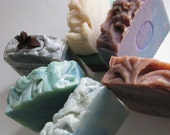 6 Bars Olive Oil soaps your choice