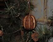 Set of 3 Clove Studded Ornaments - Home Decor - Decoration