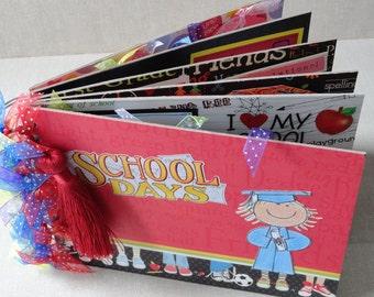 Kindergarten Graduation Premade Chipboard Album Just Add Photos