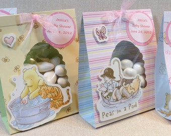 Winnie the Pooh Baby Girl Party Favors In an easy to assemble do it yourself kit