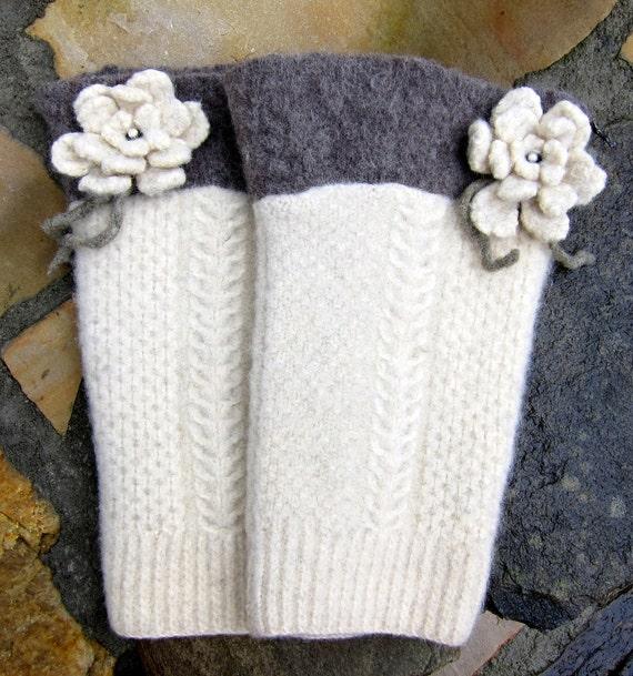 Wool Felted Leg Warmers